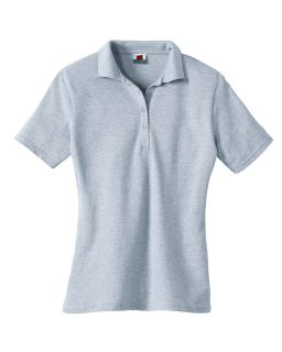 Ladies 7 Oz. Comfortsoft® Cotton Pique Polo-Hanes