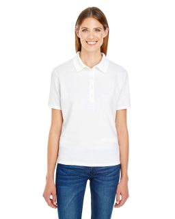 Ladies 6.5 Oz. X-Temp® Pique Short-Sleeve Polo With Fresh Iq