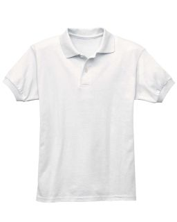Youth 5.2 Oz., 50/50 Ecosmart® Jersey Knit Polo-Hanes