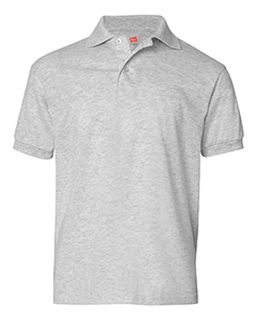 Youth 5.2 Oz., 50/50 Ecosmart® Jersey Knit Polo-
