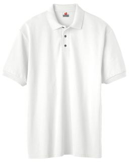 Mens 7 Oz. Comfortsoft® Cotton Pique Polo-Hanes