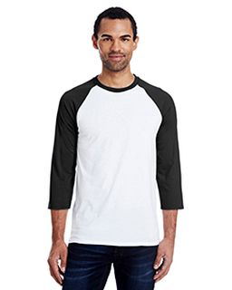 Mens 4.5 Oz., 60/40 Ringspun Cotton/Polyester X-Temp® Baseball T-Shirt-Hanes