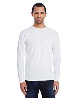 Mens 4.5 Oz., 60/40 Ringspun Cotton/Polyester X-Temp® Long-Sleeve T-Shirt-Hanes