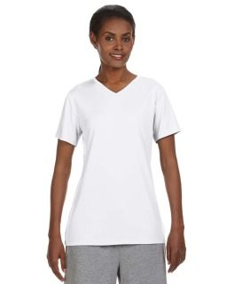 Ladies Cool Dri® With Freshiq V-Neck Performance T-Shirt-Hanes