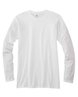Adult 4.5 Oz., 100&#37<long> Ringspun Cotton Nano-T® Long-Sleeve T-Shirt