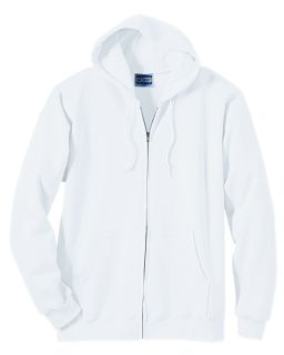 Adult 9.7 Oz. Ultimate Cotton® 90/10 Full-Zip Hood-
