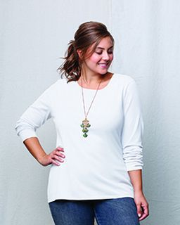 Ladies Jms 4.5 Oz.,100% Ringspun Cotton Long-Sleeve T-Shirt-