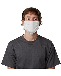 Adult Cotton Adjustable Pocket Mask-Hanes