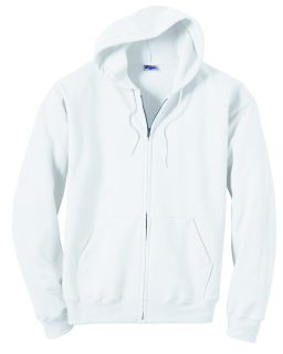 Adult 7.8 Oz. Ecosmart® 50/50 Full-Zip Hood-