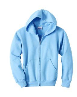 Youth Ecosmart® 50/50 Full-Zip Hooded Sweatshirt-