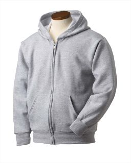 Youth 7.8 Oz. Ecosmart® 50/50 Full-Zip Hood-
