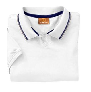 Ladies 5.9 Oz. Cotton Jersey Short-Sleeve Polo With Tipping-