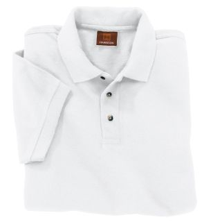 Mens Tall 6 Oz. Ringspun Cotton Pique Short-Sleeve Polo-Harriton