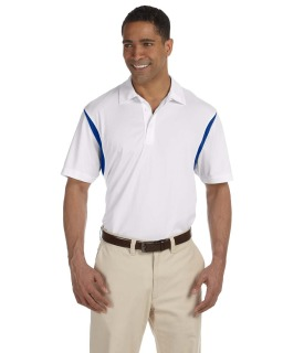 Mens Back Blocked Micro-Pique Polo-