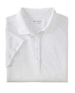 Ladies 3.8 Oz. Polytech Mesh Insert Polo-