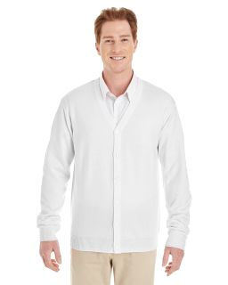 Mens Pilbloc™ V-Neck Button Cardigan Sweater-Harriton