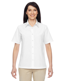 Ladies Advantage Snap Closure Short-Sleeve Shirt-Harriton