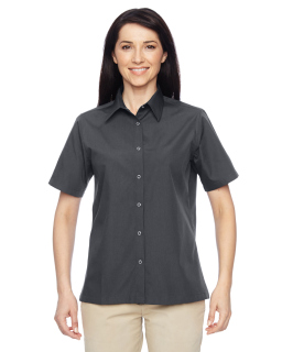 Ladies Advantage Snap Closure Short-Sleeve Shirt-
