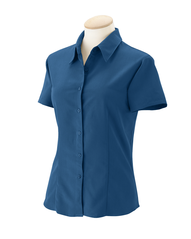 7bc9ab0ef008f6 Buy Ladies Barbados Textured Camp shirt - Harriton Online at Best ...