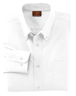 Mens Long-Sleeve Oxford With Stain-Release-