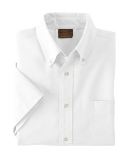 Mens Short-Sleeve Oxford With Stain-Release-