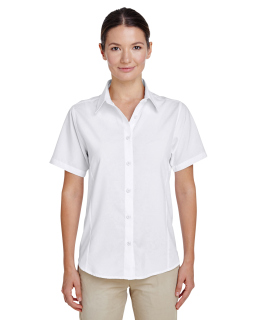 Ladies Paradise Short-Sleeve Performance Shirt-Harriton
