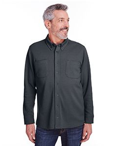 Adult Stainbloc� Pique Fleece Shirt-Jacket-