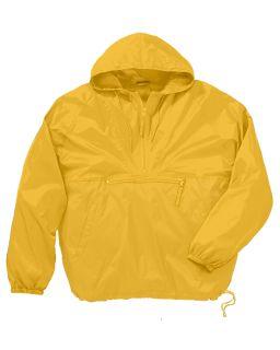 Adult Packable Nylon Jacket-Harriton