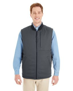 Adult Dockside Interactive Reversible Freezer Vest-Harriton