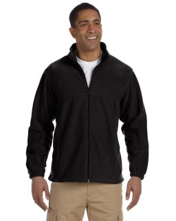 Mens Tall 8 Oz. Full-Zip Fleece-Harriton