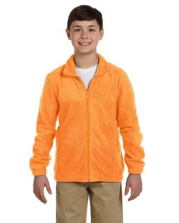Youth 8 Oz. Full-Zip Fleece-Harriton