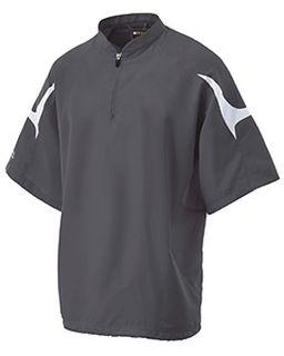 Adult Polyester Short Sleeve Equalizer Jacket-Holloway