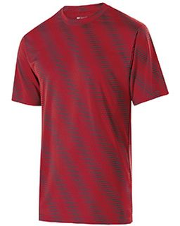 Adult Polyester Short Sleeve Torpedo Shirt-Holloway
