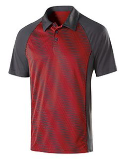 Adult Polyester Torpedo Polo-Holloway