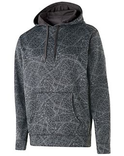 Adult Polyester Performance Fleece Complex Hoodie-Holloway