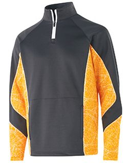 Adult Polyester Performance Fleece Complex Pullover-Holloway