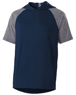 Unisex Dry-Excel� Echo Short-Sleeve Hooded T-Shirt-