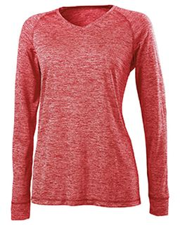 Ladies Dry-Excel™ Electrify 2.0 Performance V-Neck Long-Sleeve Training Top-