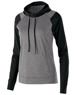 Ladies Dry-Excel� Echo Performance Polyester Knit Training Hoodie-