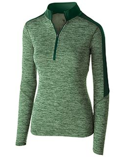 Ladies Dry-Excel™ Electrify Performance Polyester Knit Half-Zip Training Pullover-Holloway