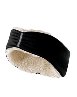 Ladies 4-Way Stretch Polyester Ridge Headband-