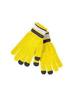 Acrylic Rib Knit Comeback Gloves-Holloway