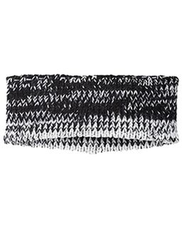 Acrylic Rib-Knit Ombre Ascent Headband-Holloway