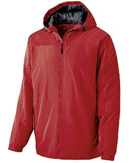 Adult Polyester Full Zip Bionic Hooded Jacket-Holloway