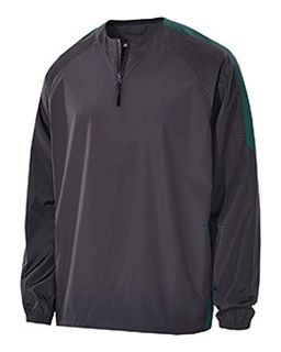 Adult Polyester Bionic 1/4 Zip Pullover-Holloway