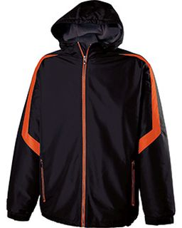 Adult Polyester Full Zip Charger Jacket-Holloway