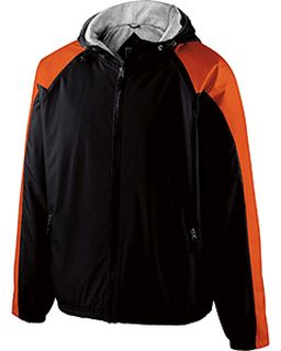 Adult Polyester Full Zip Hooded Homefield Jacket-Holloway
