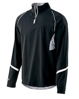 Adult Polyester 1/4 Zip Tenacity Pullover-Holloway