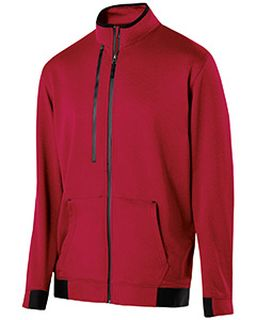 Adult Polyester Fleece Full Zip Artillery Jacket