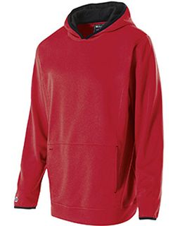 Adult Polyester Fleece Artillery Hoodie-Holloway